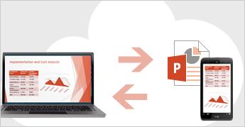 Salvare i file nel cloud