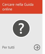 Cercare nella Guida online (per tutti)