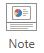Nel gruppo Mostra della scheda Visualizza nella barra multifunzione, selezionare Note.