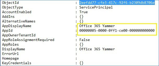Esempio di output a un file di testo