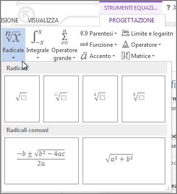 Strutture matematiche radicali
