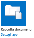 raccolta documenti