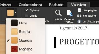 Modalità focus per Office per Mac