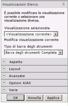Menu web part