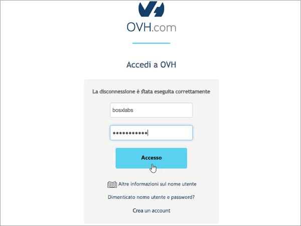 Accesso a OVH_C3_201752617225