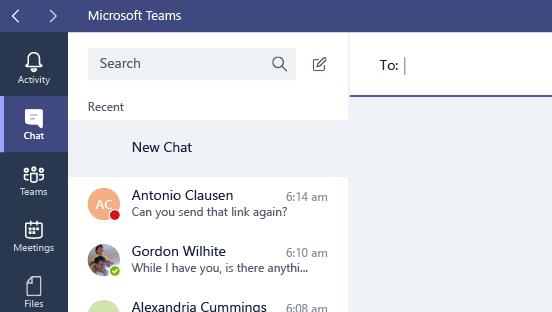 Questa schermata mostra il campo A di un messaggio.