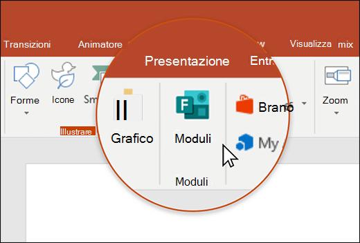 Icona maschere in PowerPoint