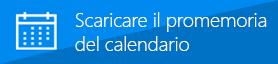 Scaricare il promemoria del calendario