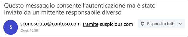 Screenshot del tag tramite