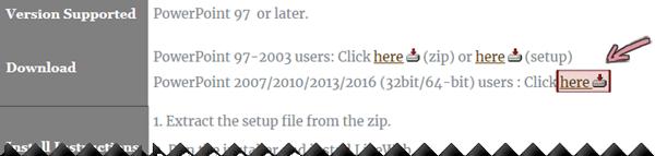Scaricare il componente aggiuntivo LiveWeb da questa pagina di download