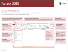 Guida introduttiva di Access 2013