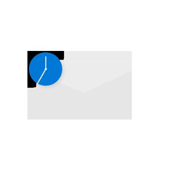 Pianificare la posta elettronica.