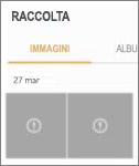 File di immagine crittografato nell'app Galleria.
