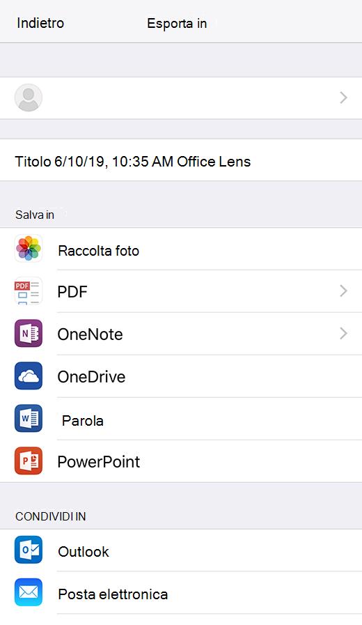 Microsoft Office Lens Per Ios Supporto Di Office