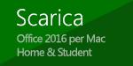 Fare clic su questo pulsante per scaricare il programma di installazione se si ha una licenza di Office Home & Student.