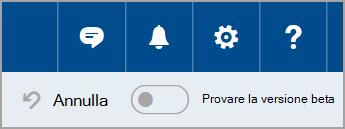 Partecipare a beta Outlook.com
