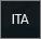 Indicatore della tastiera inglese