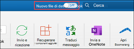 Il nuovo Outlook per Mac
