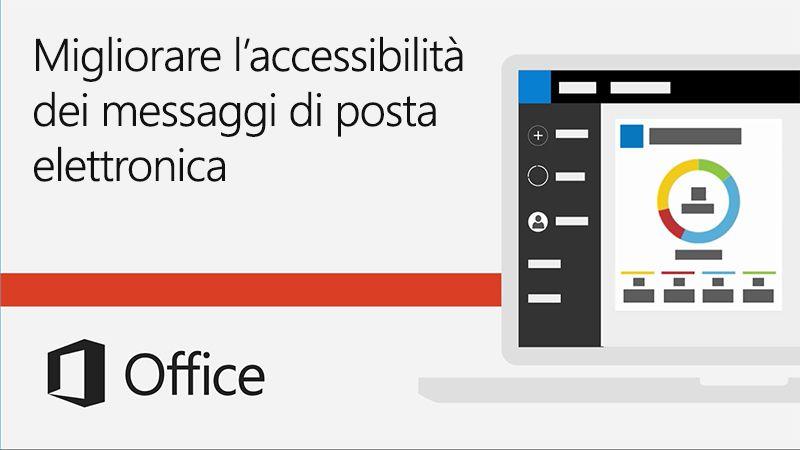 Video Migliorare l'accessibilità dei messaggi di posta elettronica