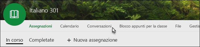 Icona Conversazioni