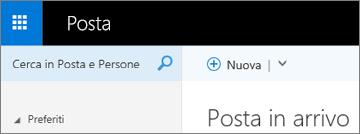 Aspetto della barra multifunzione in Outlook Web App