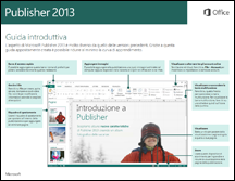 Guida introduttiva di Publisher 2013