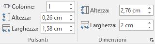 Stile filtro dei dati