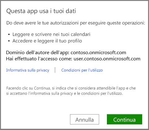 Accesso a Office 365