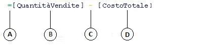 Formula della colonna calcolata