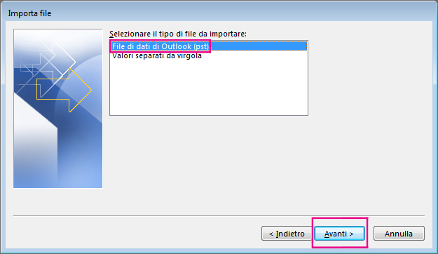 outlook non scarica posta gmail