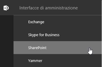 Amministrazione, SharePoint