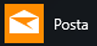 Mostra l'app Posta per Windows 10 così come appare nel menu Start di Windows