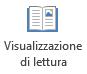 Visualizzazione di lettura è adatta per la lettura schermo di presentazione di PowerPoint quando non c'è alcun relatore.