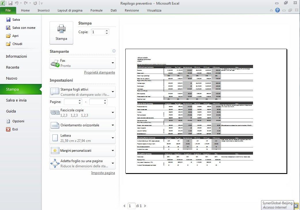 La web part Excel Web Access visualizza un riquadro Selezione cartella di lavoro