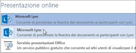 Presenta online con Microsoft Lync