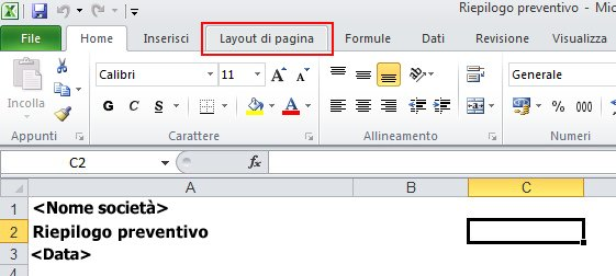 Barra multifunzione di Outlook