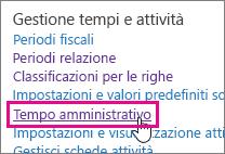 Tempo amministrativo