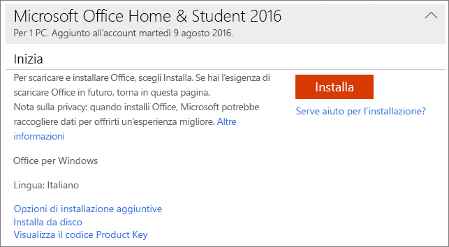 office 2013 con product key