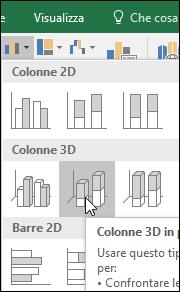 Colonne 3D in pila