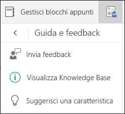 Gestire le opzioni di selezione dei blocchi appunti