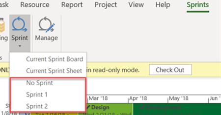 Visualizzazioni Sprint