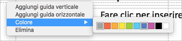 Guide multicolore per l'utente per creare una presentazione perfetta.