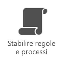 PMO - Stabilire regole e processi