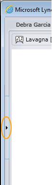 Freccia Mostra conversazione