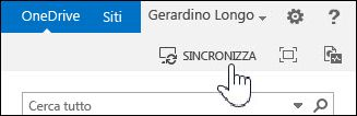 Sincronizzare OneDrive for Business in SharePoint 2013