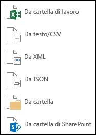 Recuperare dati da un File