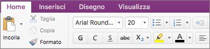 Fare clic sul pulsante Colore evidenziatore testo