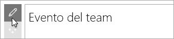 Modificare la web part Microsoft Forms.