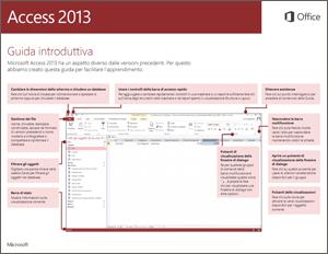 Guida introduttiva ad Access 2013