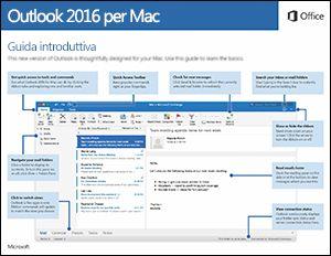 Guida introduttiva di Outlook 2016 per Mac